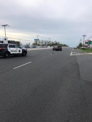 Howell police investigated a pedestrian crash on Route 9 April 23.