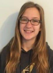 Student Voices winner, Sarah Rusher