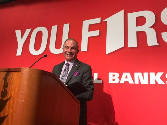 Scott Dueser, chairman, president and CEO of First Financial Bankshares Inc. announced a two-for-one stock split on April 23, 2019.