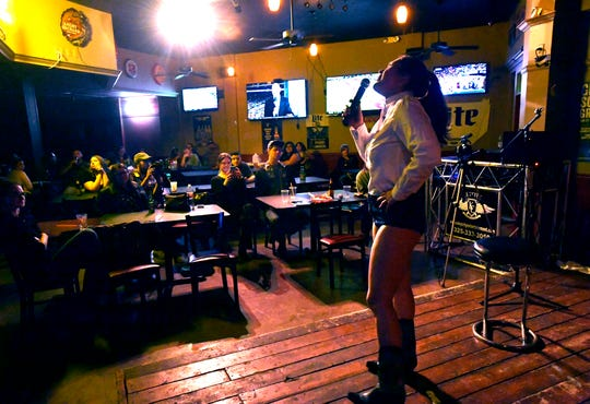 Coachella Valley Brewing hosts a stand-up comedy night on Sept. 28, 2019.