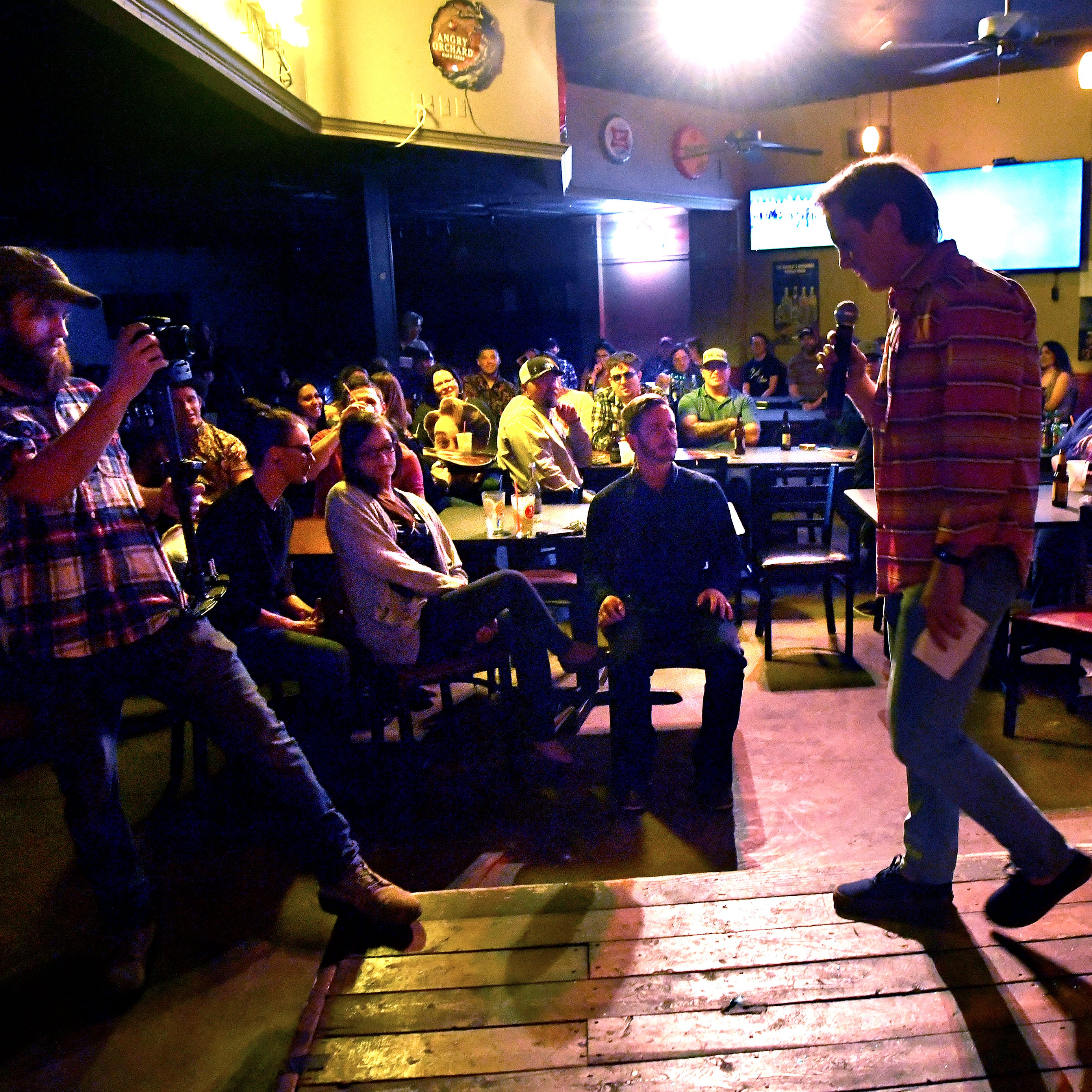 Abilene's stand-up comedy scene keeps growing as talent takes over The Zone stage