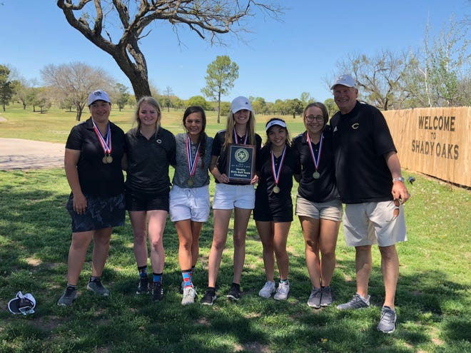 The Clyde girls golf team won the District 5-3A championship by 127 strokes at Shady Oaks Golf Course in Baird.