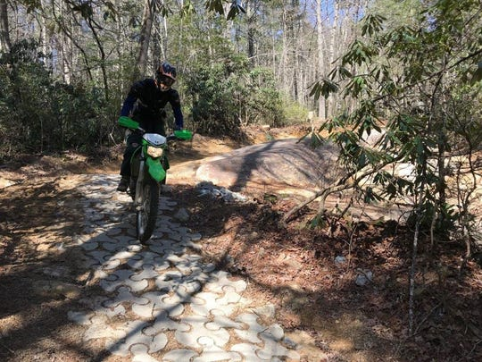 The Brown Mountain OHV Trail System in the Pisgah National Forest has seen a 37% increase in use over the past decade.