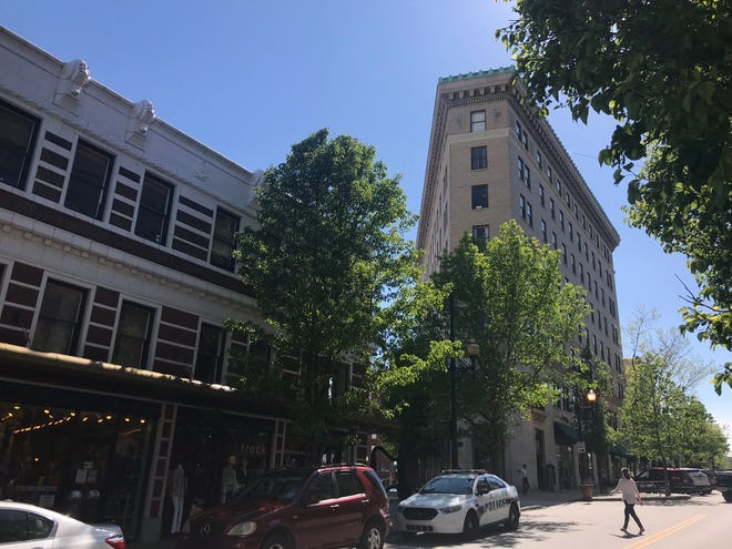 Asheville City Council is scheduled to vote June 25 on a conditional zoning request to clear the way for a redevelopment plan at the historic Flatiron Building at 20 Battery Park Ave.
