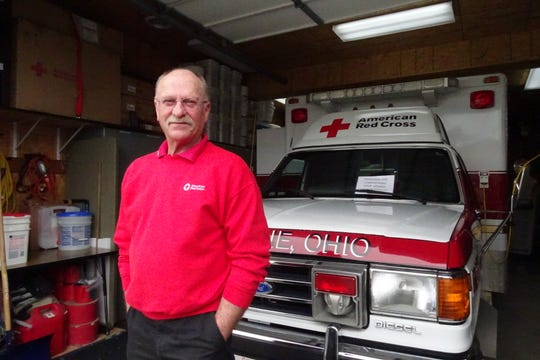 Karl Schwechheimer is the Disaster Action Team coordinator for the Crawford County Chapter of the American Red Cross.