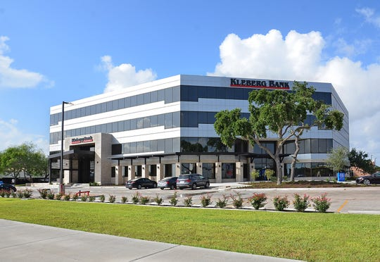 Construction of the new Corpus Christi Kleberg Bank headquarters at was completed in June 2018 5350 S. Staples St.