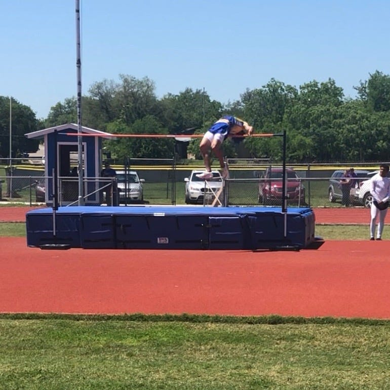 Odem's Spencer Bigner takes aim at state meet in high jump