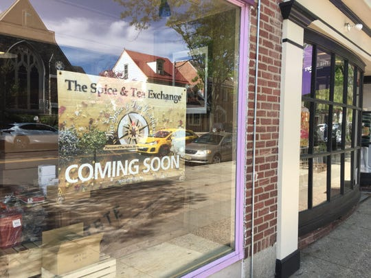 A sign in the window announces the soon-to-open Spice & Tea Exchange but the smells coming from inside the store speak for themselves, says owner Alison Braun.