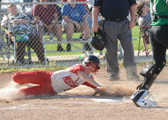 Westfall defeated Huntington 12-2 Monday night at Westfall High School.