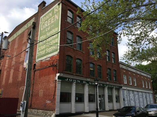 April 23, 2019:  The John R. Green Co. building at 411 W. 6th St. will be the site of 177 new John R. Lofts apartments scheduled to open in spring 2021, according to developer RealtyLink LLC.