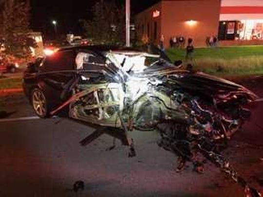 Deputies: Man charged in Burlington crash was driving 100 mph