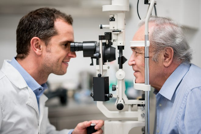 Veterans should be regularly screened for eye and vision problems.