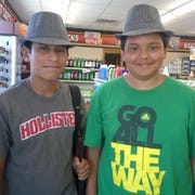 Josue (Lito) Alonzo, Jr., left, and Luis Alonzo are shown in a photo taken about seven years ago.