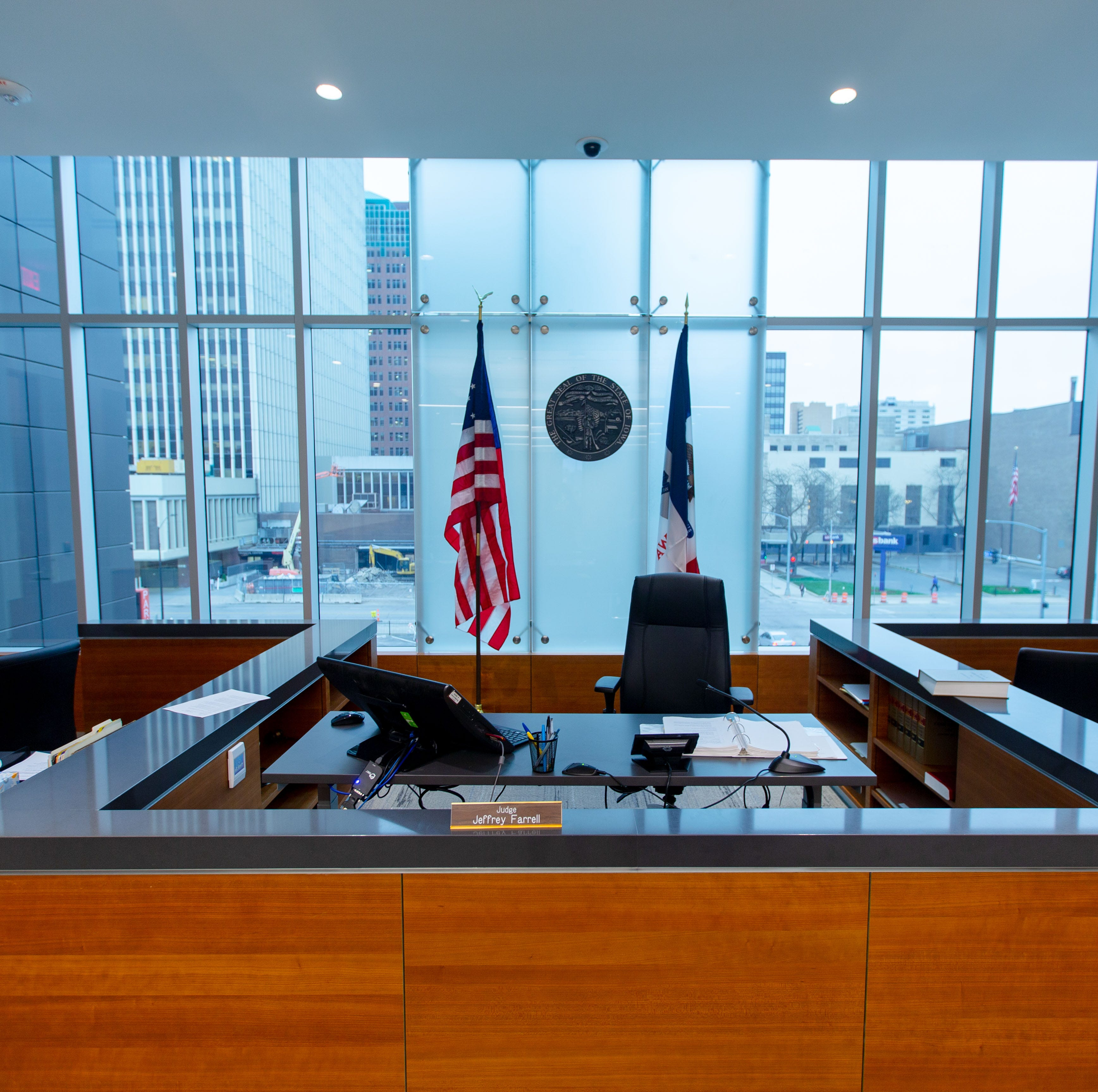 See inside the new $35 million Polk County Criminal Courthouse in downtown Des Moines