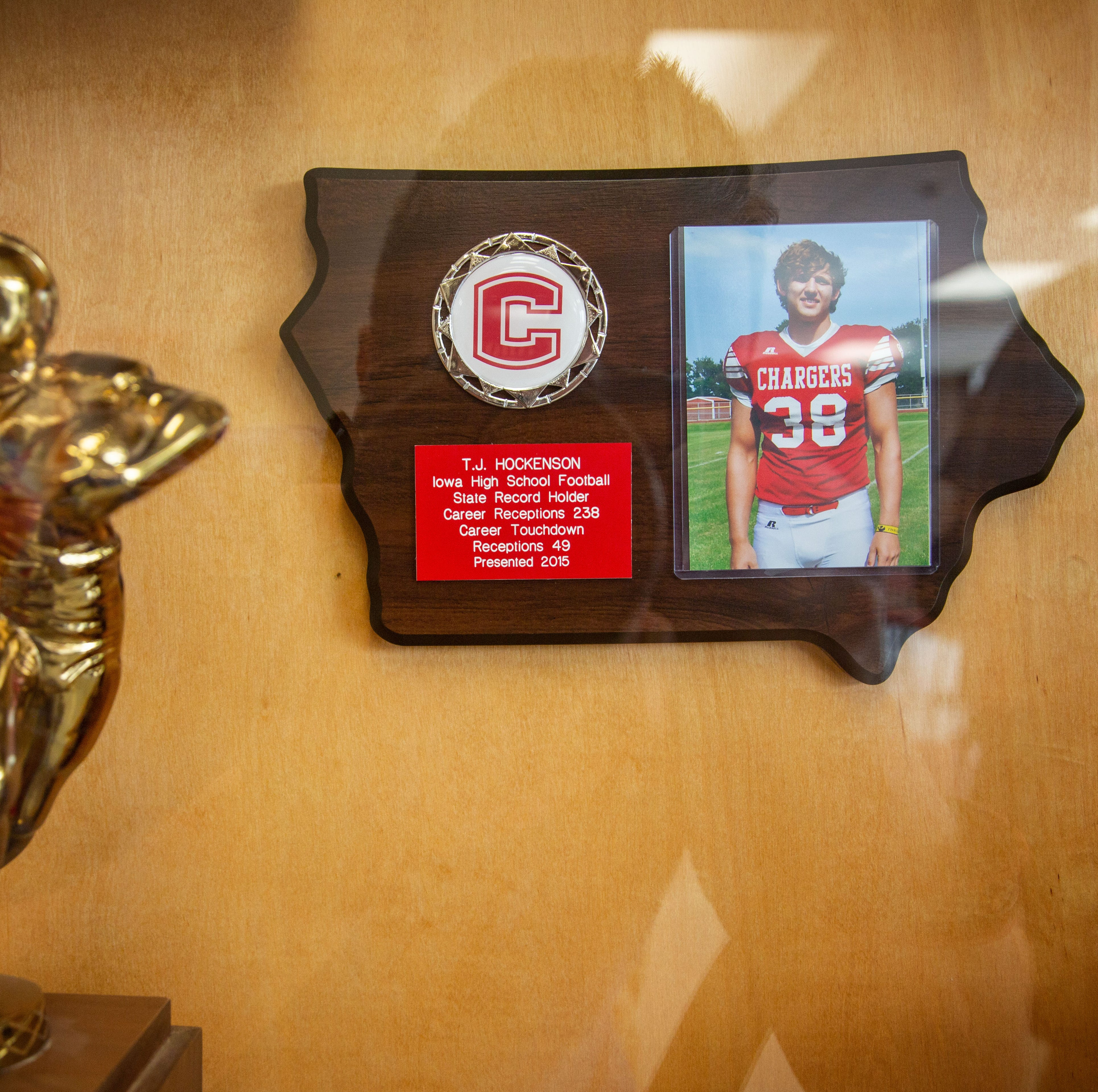 NFL Draft pick T.J. Hockenson is the pride of Chariton, especially this week