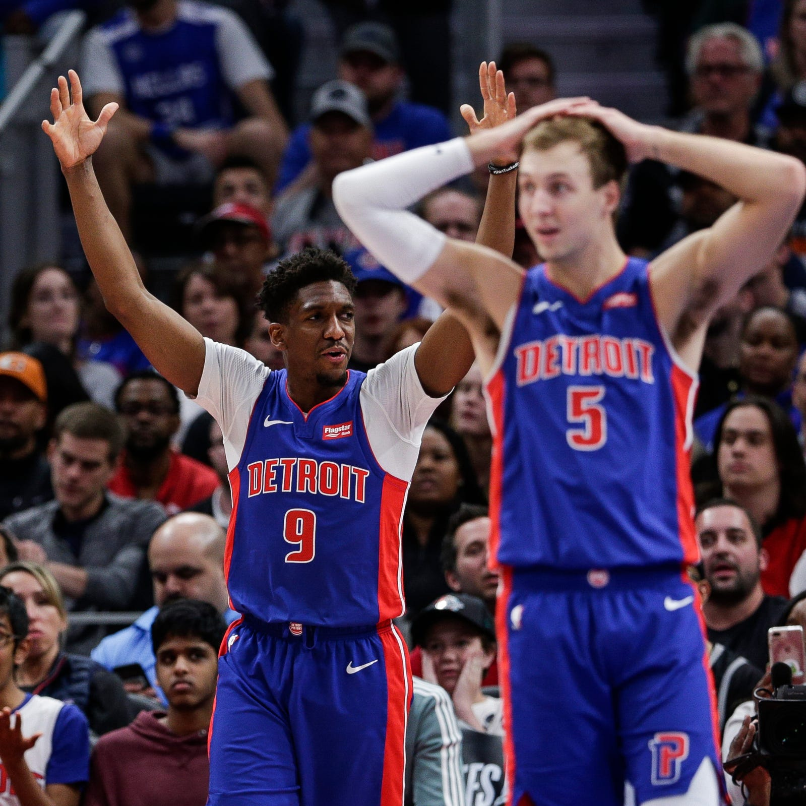 Detroit Pistons hope progress has been made, but real work begins this offseason