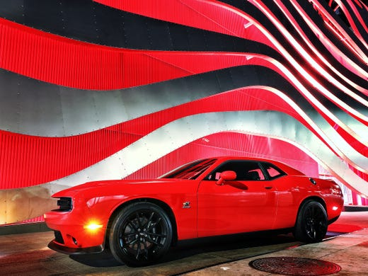 Dodge Challenger tops Camaro as Mustang holds lead in ...