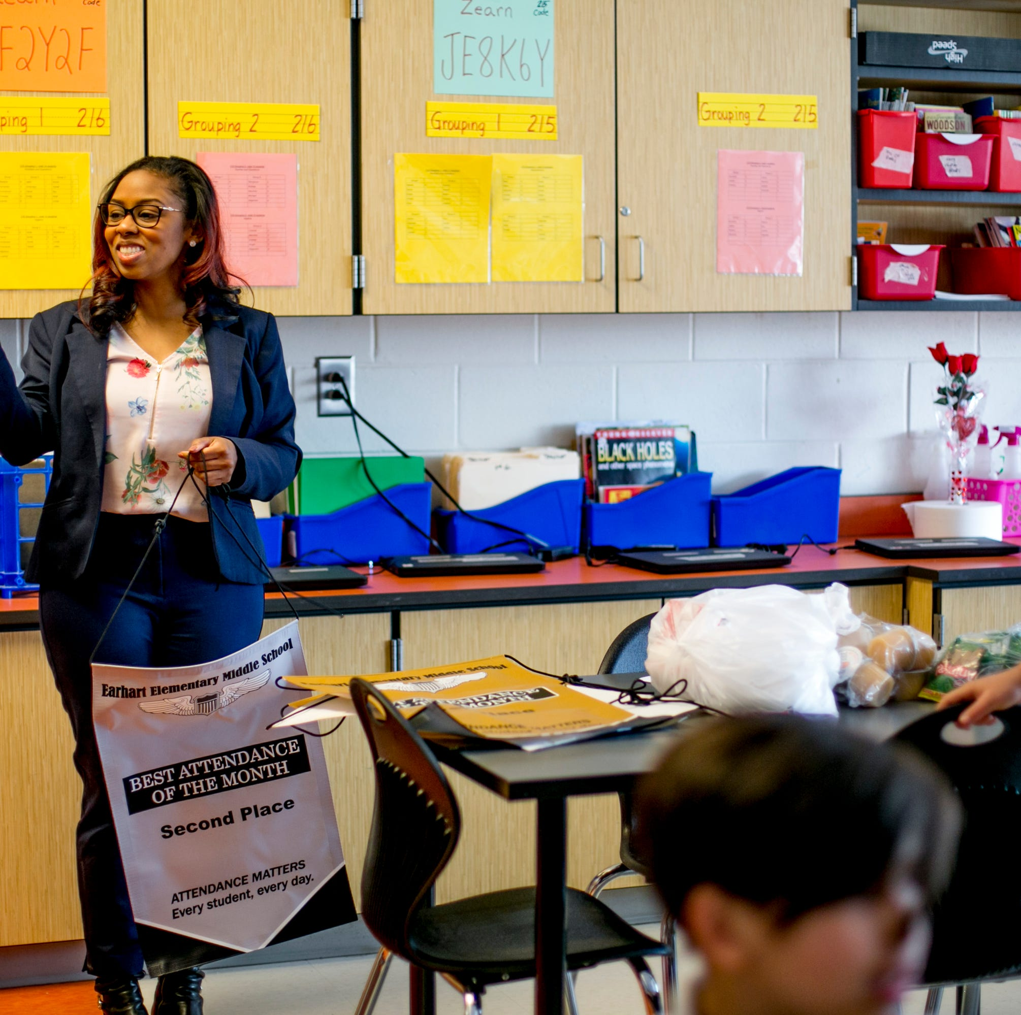 70% of Detroit students are chronically absent. Here's how the school district fights it