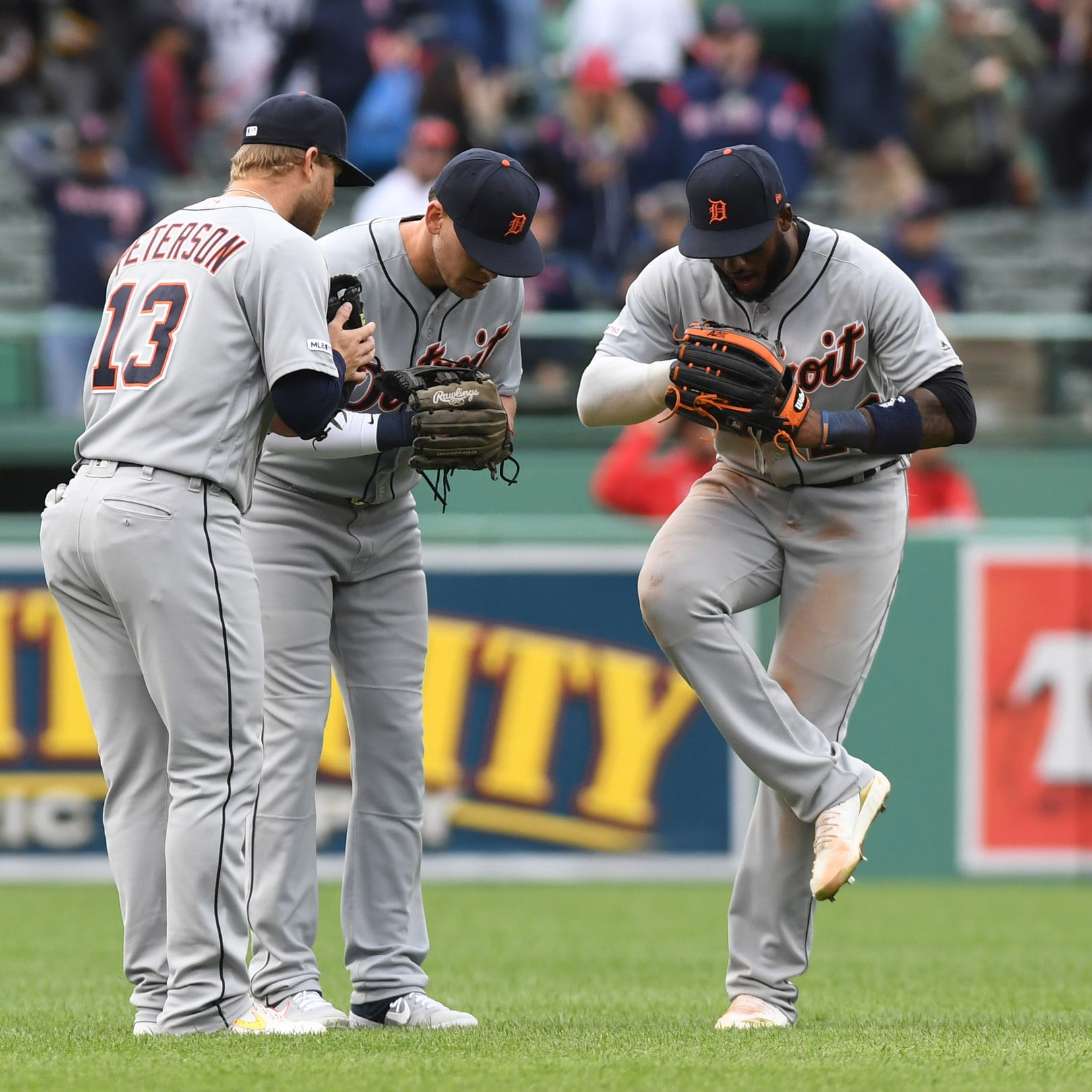 What was sweeter for Detroit Tigers Tuesday: Red Sox sweep or M&M boys?