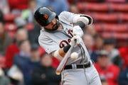 Tigers right-fielder Nick Castellanos is hitting .226 in  June.