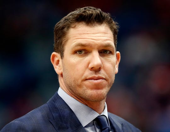 The Kings hired Luke Walton as their coach just days after he parted ways with the Lakers.