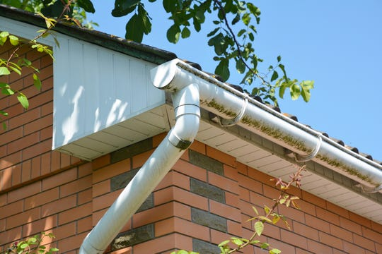 If you have lots of foliage above your house, your gutters may need to be cleaned more often. (Dreamstime)