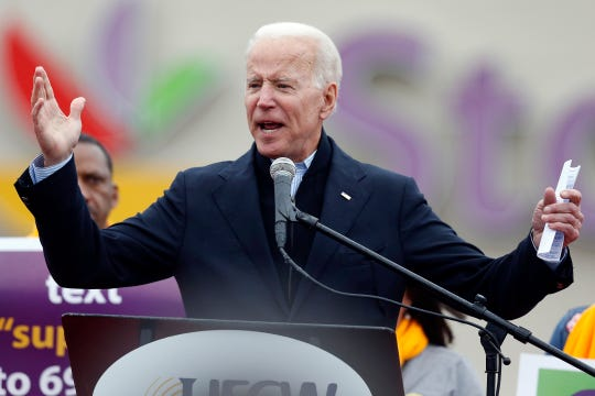 The #metoo awakening should be an automatic disqualifier for Gropin' Joe Biden, Finley writes.