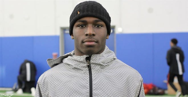 Marcellus Moore of Plainfield (Ill.) North is one of the fastest recruits in the Midwest.