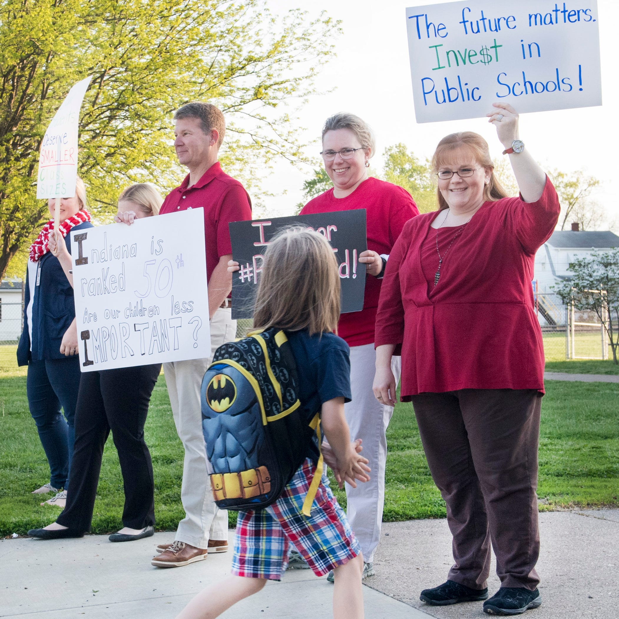 'We're at the bottom,' EVSC teachers to state legislators on teacher pay at 'walk-in'