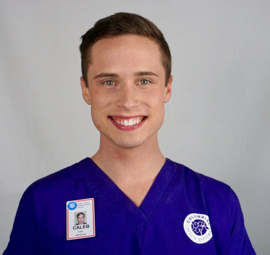 Caleb Rice is one of Columbine Health's CNA team lead.