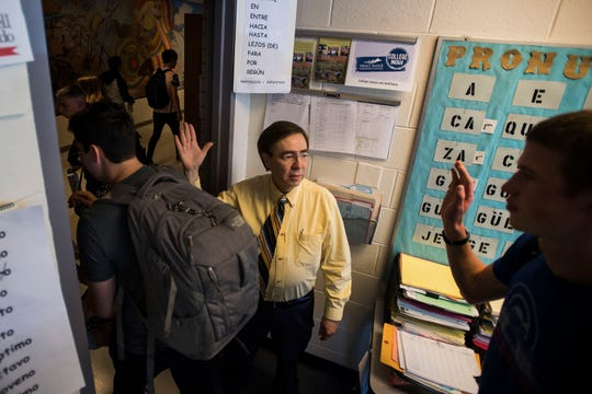 Poudre High School teacher Tony Espinoza retiring after 40 years