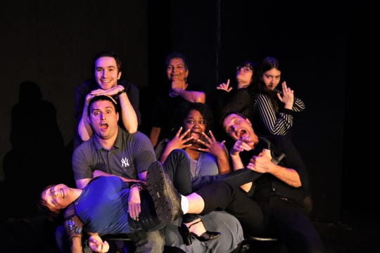 """The actors from Lab Theater's """"The Festival of Tens"""""""