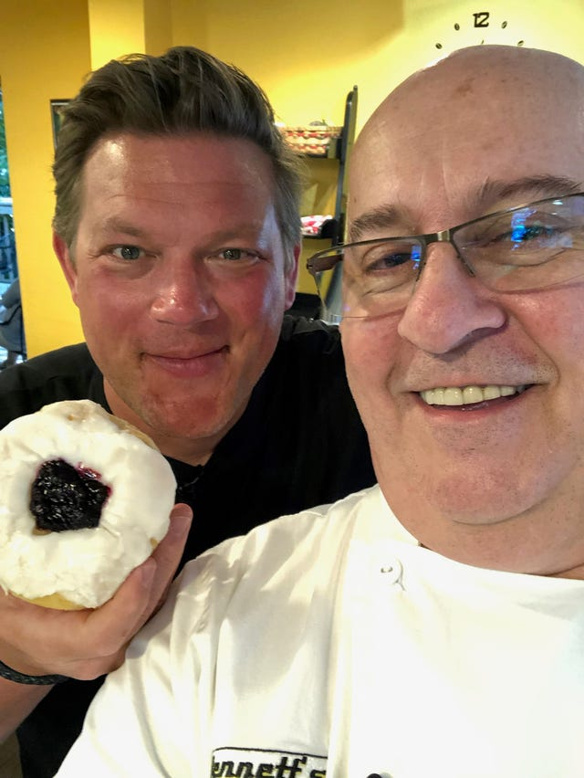 If Chef Tyler Florence is jittery in Fort Myers, it's