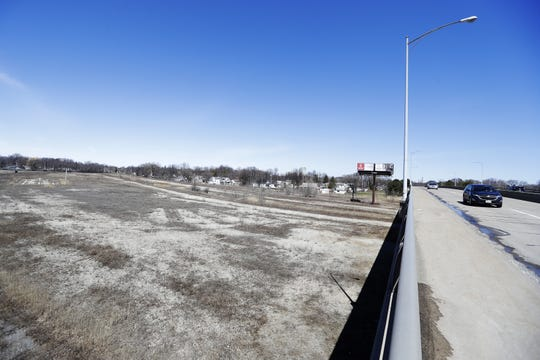The former Wisconsin Central rail yard west of  the Ashland Avenue overpass in Green Bay is vacant, but the railroad is reluctant to sell the land.