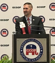 Nate Leupp was elected Tuesday night to serve a second, two-year term as chairman of the Greenville County Republican Party.