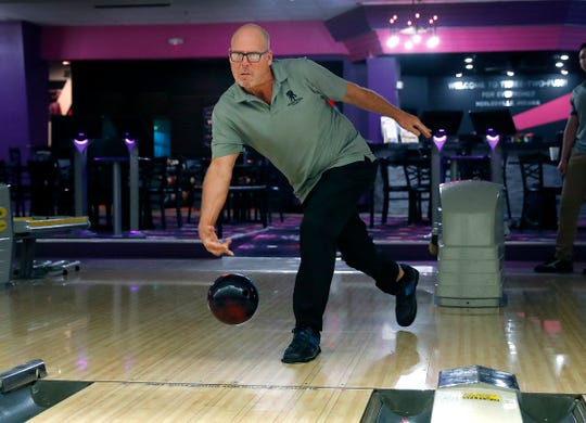 """Bryan Anten's top tip: """"Listen to your older people, because they will teach you how to bowl."""""""