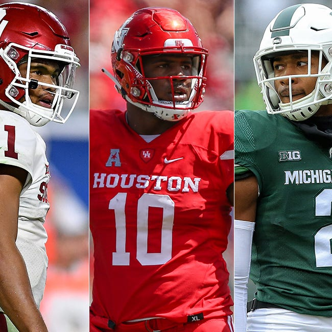 NFL mock draft: QBs, plenty of trades and Colts look defense