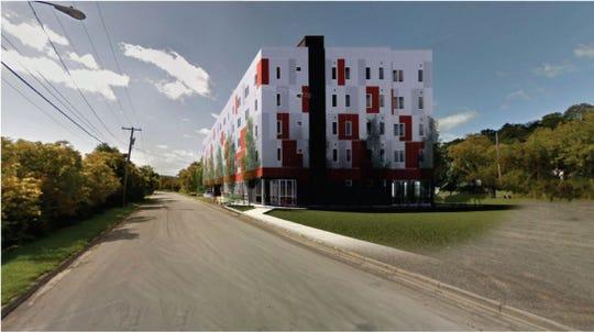 "Rendering of Vecino's ""Arthaus"" project."