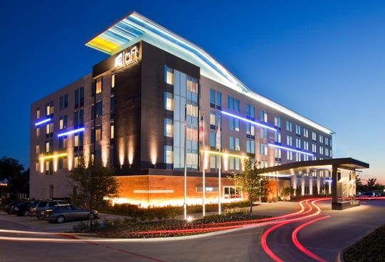 The Aloft hotel at Lovell Road and Interstate 40 is being developed by Turkey Creek Hospitality and is expected to be completed this fall.