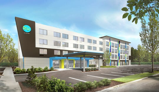 A Tru by Hilton hotel is planned at Lovell Road and Interstate 40.