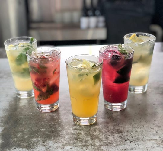 Mojitos from Babalu Knoxville. The restaurant will celebrate 'Cinco de Mojito' from Friday, May 3-Sunday, May 5.