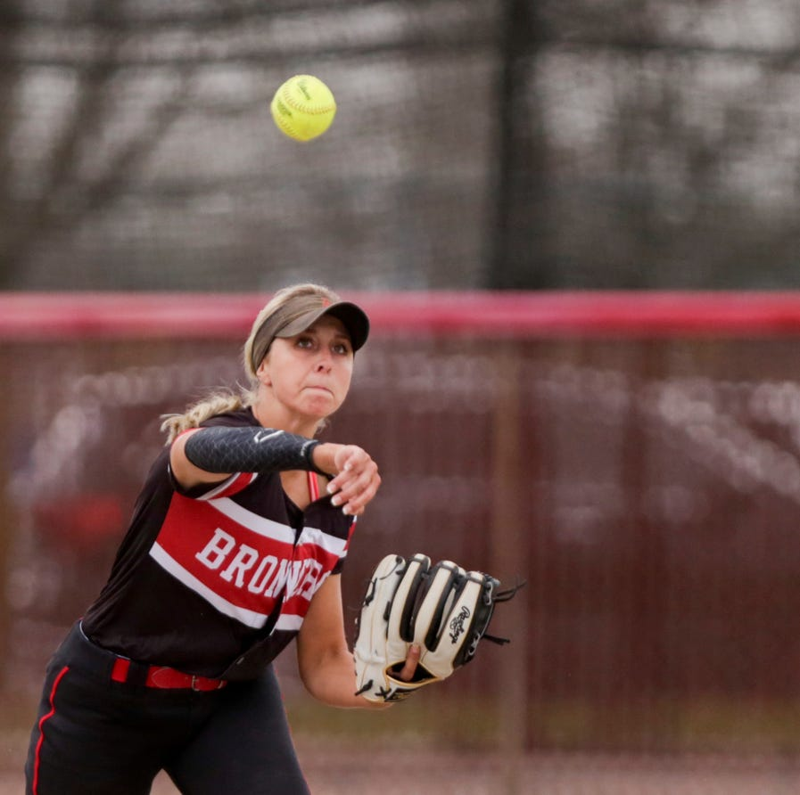 Emilee Cox and Ashlynn McTagertt led Lafayette Jeff softball's rally past West Lafayette