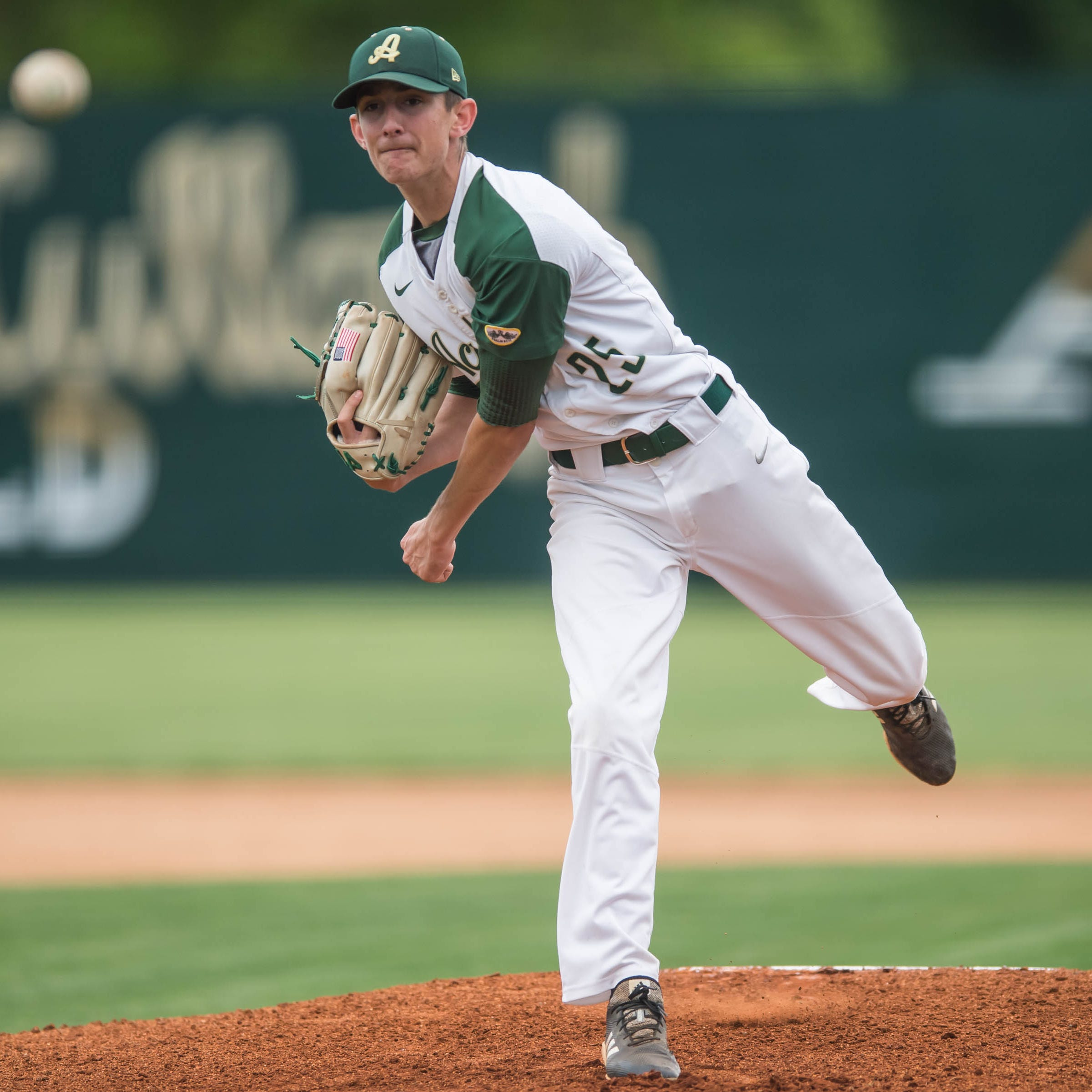 Trahan's dominant performance leads Acadiana to second round