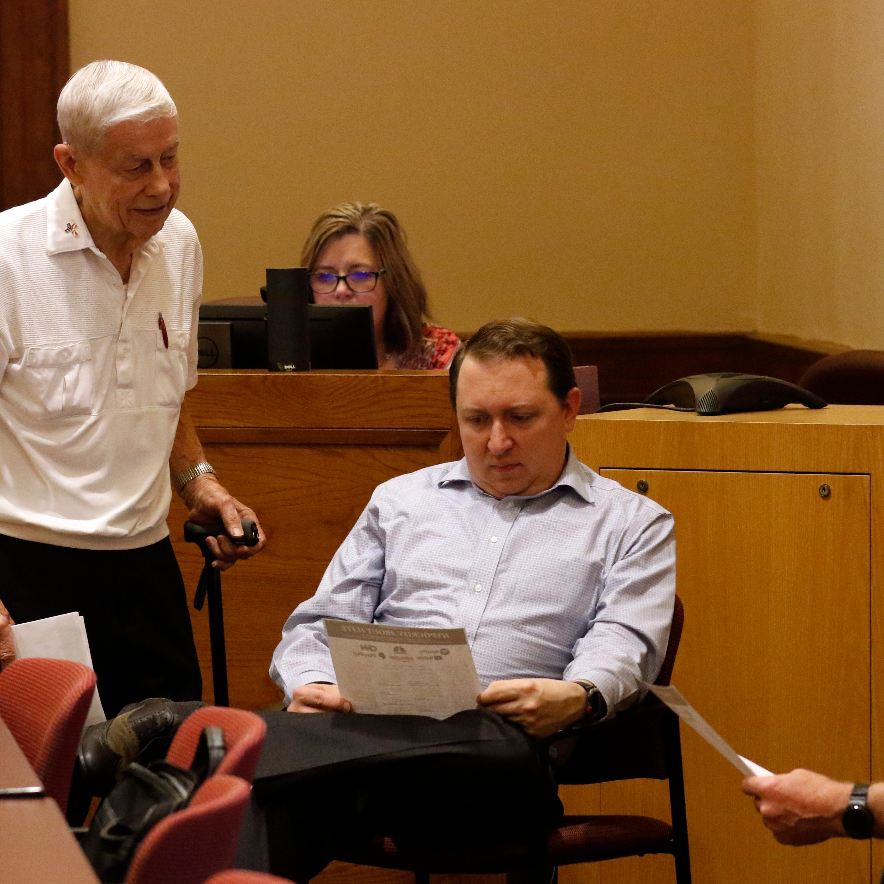 Bremen area man, 85, is a fixture at county commission meetings