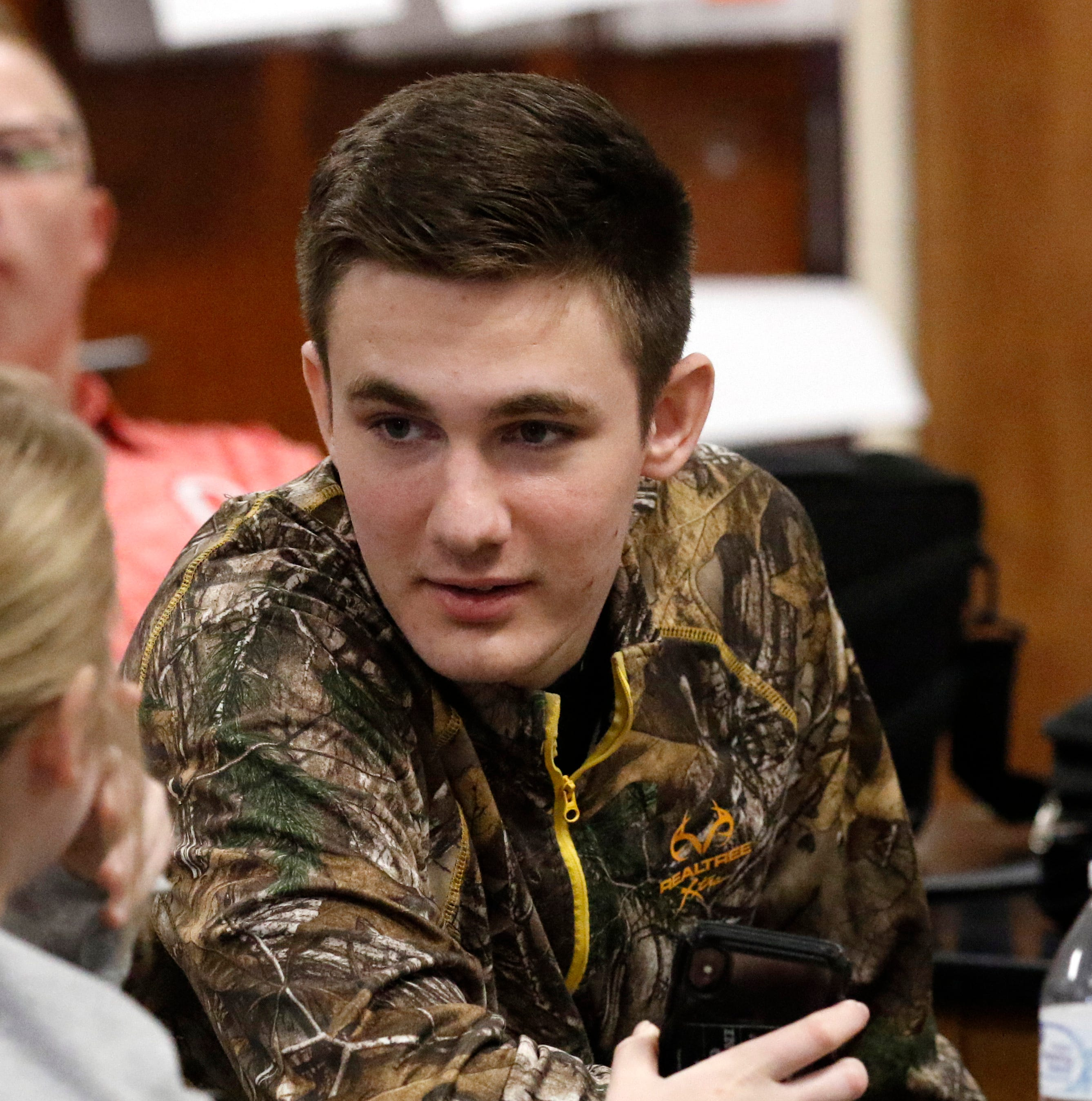 Amanda-Clearcreek senior Bryson L'Huillier's injuries led to interest in the medical field