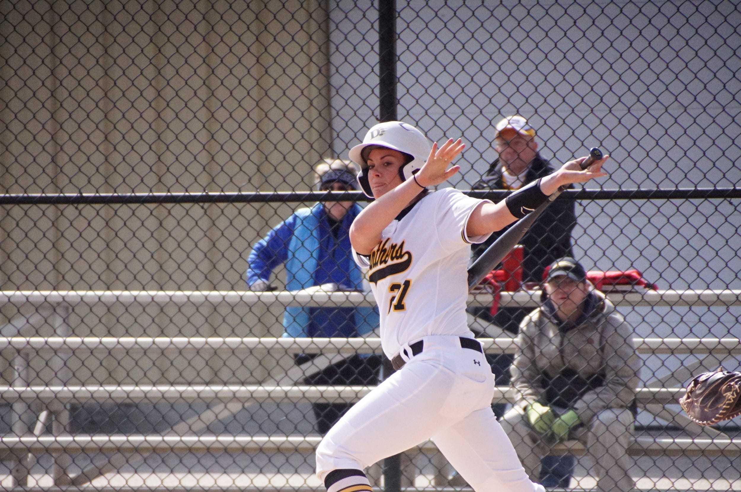 Former Liberty Union standout and senior catcher for Ohio Dominican University is having the best season of her career and leads the Panthers with a .359 batting average.
