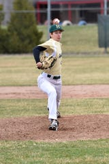 Howell sophomore Adam Mrakitsch pitched a one-hitter in a 1-0 shutout of Northville.