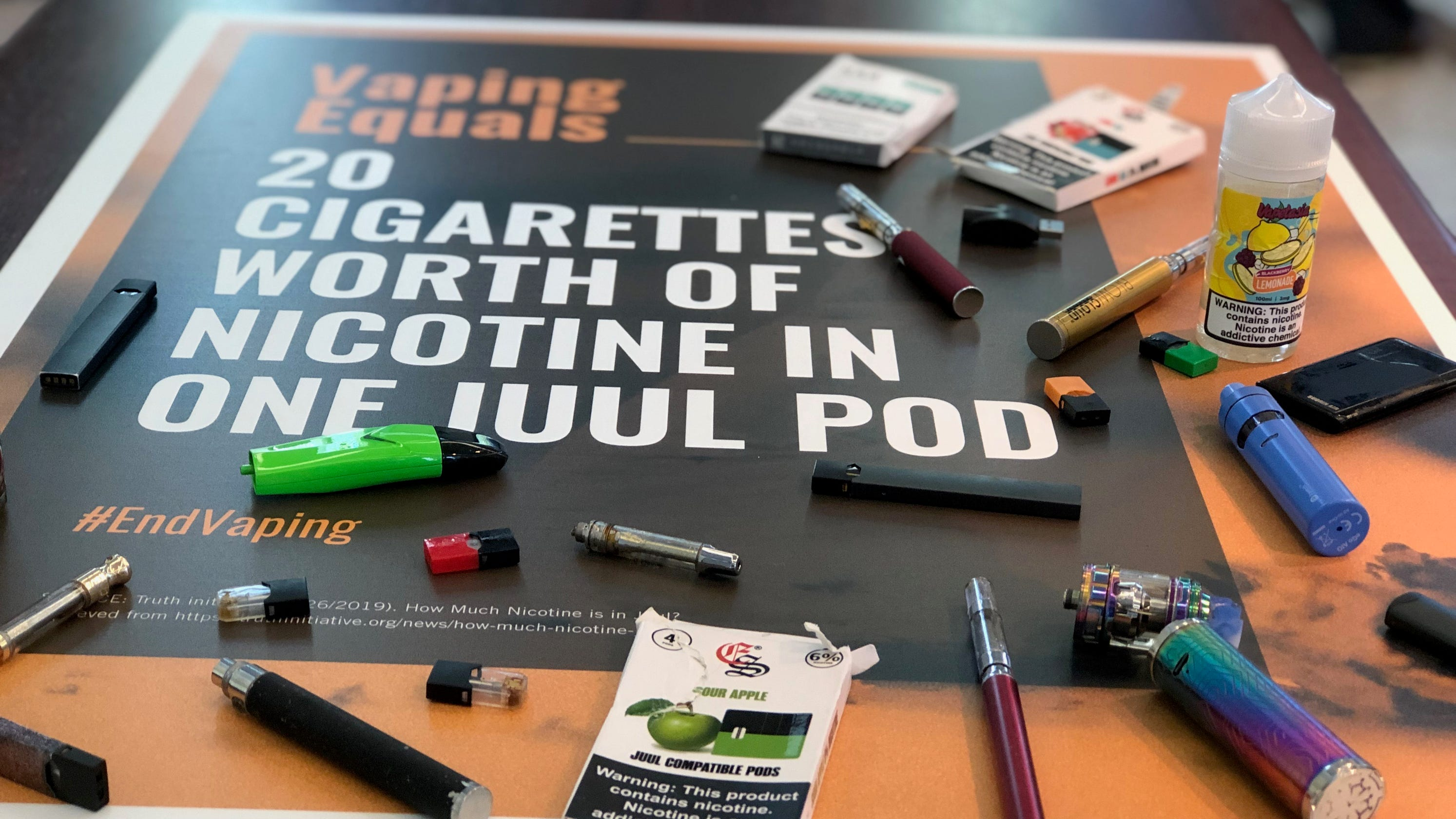 JCPS fights vaping, JUUL in school with e-cigarette campaign
