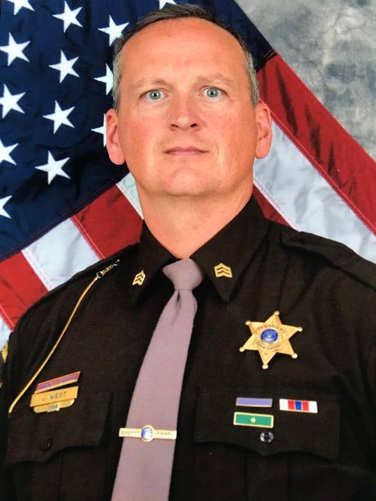 Eaton County Sergeant Jim West in 2016 photo. West said the county has abandoned him just 18 months shy of retirement.