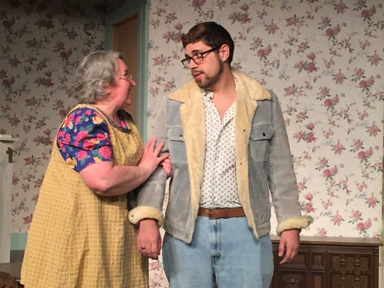 """Suzanne Allen and Tony Baer are part of the ensemble cast of """"Making God Laugh."""""""